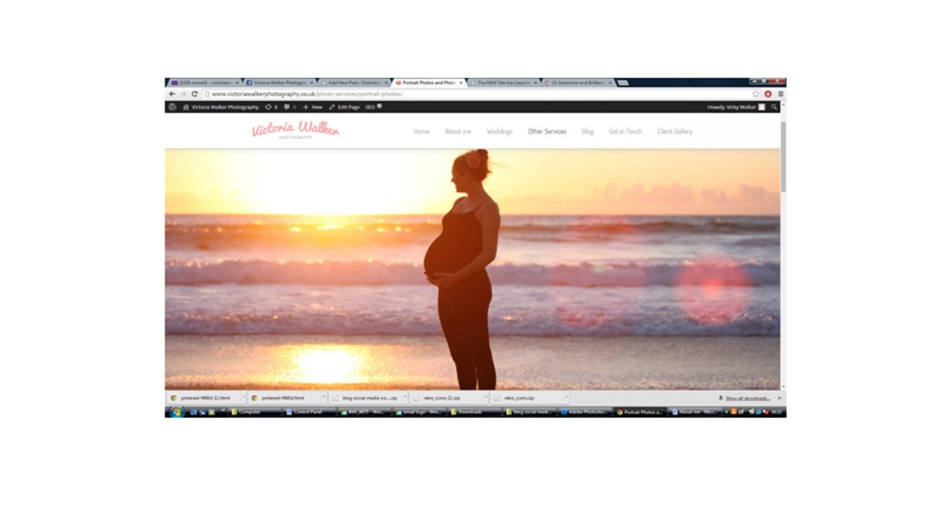 Portrait photographers St.Ives Cornwall 1024x576 1 - New Website has launched! Victoria walker photography