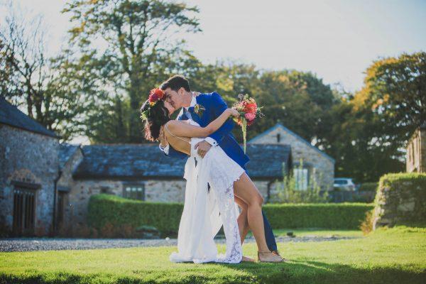 1 439 600x400 - Trevenna Barns Wedding - Grace and Sam