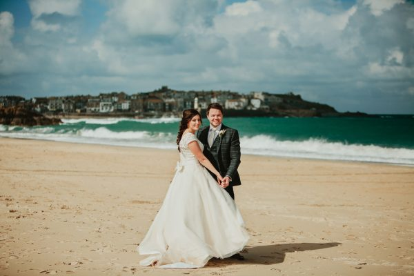 DA 390 600x400 - Alice and Dans Wedding at The Harbour Hotel St.Ives