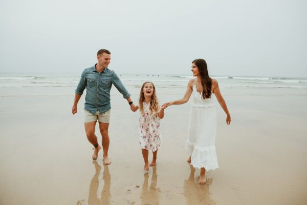 Natural Family Photography Cornwall 600x400 - Land Portrait Photography