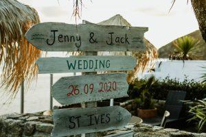 003 300x200 - Carbis Bay Beach Club Wedding